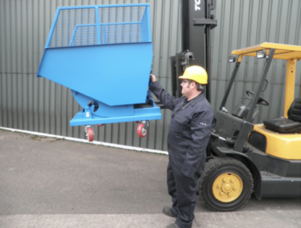 Mesh Height Tipping Skips